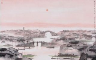 水墨氤氲:杨明义的江南水乡