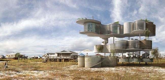 超现实建筑狂想曲