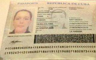 古巴政府归还古巴艺术家塔尼亚·布鲁格拉护照