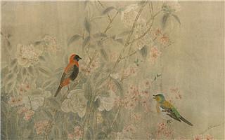 江宏伟工笔花鸟:二十四节气之春分