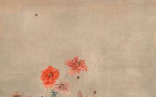 江宏伟工笔花鸟:二十四节气之小满