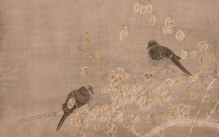 江宏伟工笔花鸟:二十四节气之立春