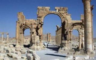 叙利亚古迹遭到毁坏 躲在战争阴影下哭泣