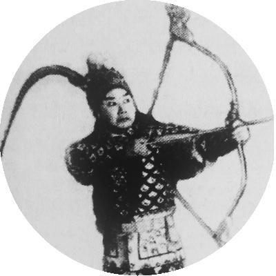 戏剧  唐韵笙因编写《扫除日害》(以后羿射日的故事影射反日)的剧本被
