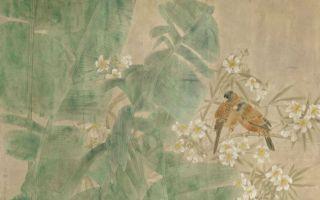 江宏伟工笔花鸟:二十四节气之芒种
