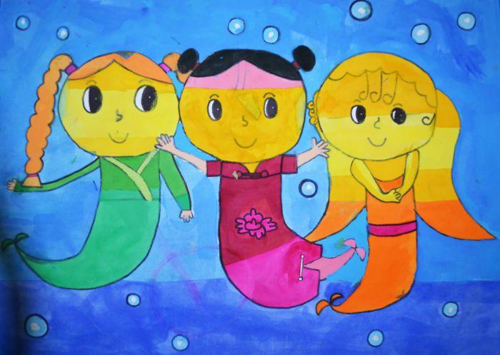 """""""我们的世界""""自闭症儿童美术作品展:绘画让不同的你我"""