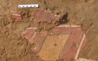 石峁遗址现神秘绿色颜料 4000年前壁画技法或确立