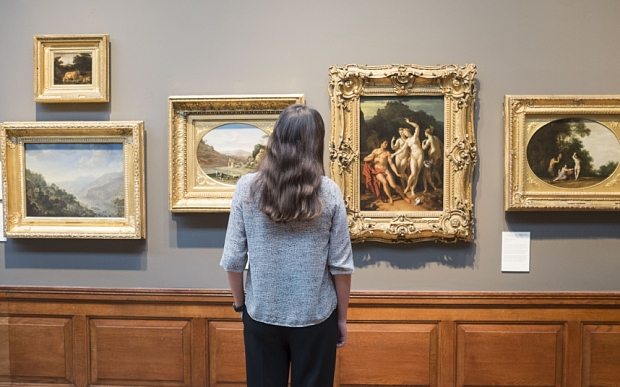 自展览开放以来,无数艺术史学者、艺术品经纪人和拍卖界人士来到美术馆寻找赝品