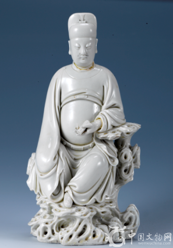 明代瓷圣何朝宗的瓷塑作品 文昌帝君