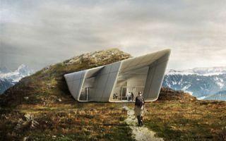 由扎哈·哈迪德设计的山峰博物馆开幕:观赏艺术的至高点