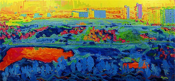 【毕业季2015】 湖北美术学院油画系毕业展作品欣赏