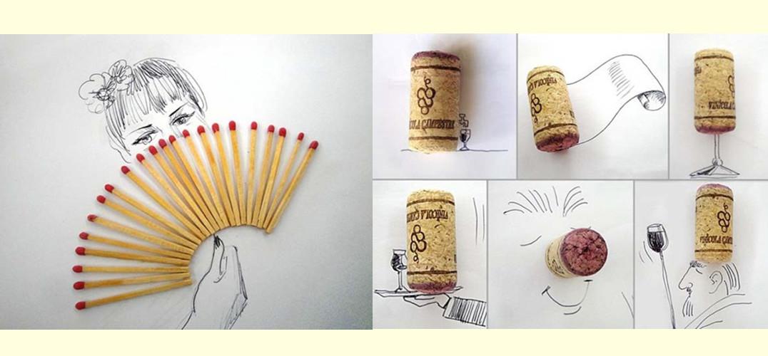 暴:创意手绘图片