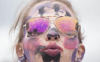 波兰500民众人体彩绘打破世界纪录