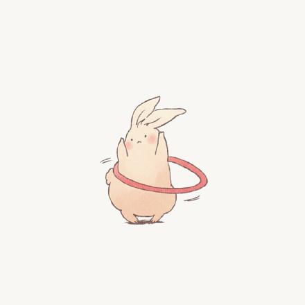 小兔子微信头像图片