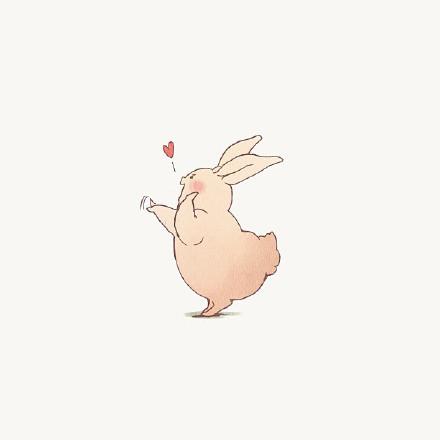 三子我喜欢你照片-肥肥哒小兔子图片分享 我已被第三张吸引了图片
