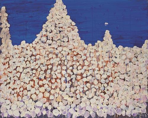 王川,《彼岸之二》,2010年,布面丙烯,200厘米x 250厘米