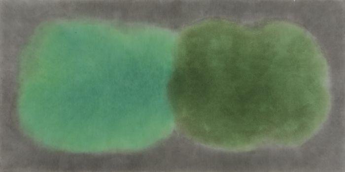 徐红明,《2015.4.19》,2015年,水彩水墨宣纸,123厘米 x 246厘米