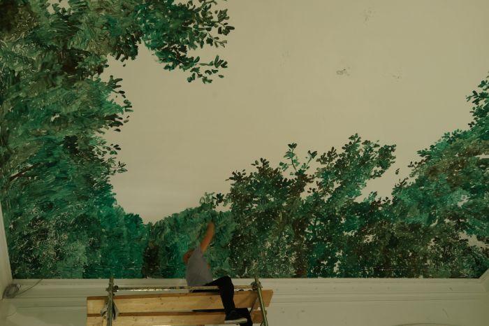 张恩利,空间绘画,2013年,意大利