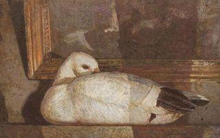 何多苓《雪雁》——创作构图的经典范例