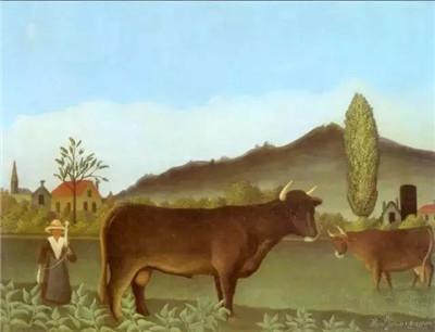 有牛的风景