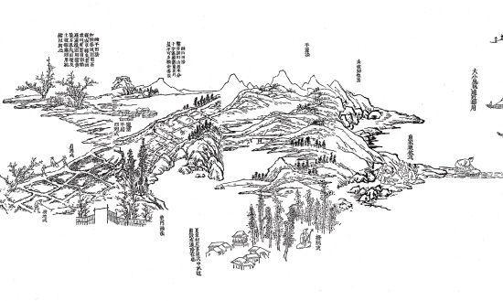中国板块轮廓简笔画