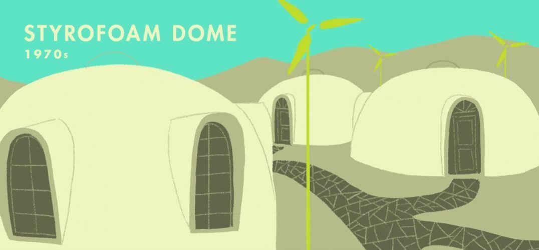 從有文明活動跡象的三萬多年前到21世紀的現代,人類把自己的居住空間從簡陋的洞窟發展為有水有電有WiFi的居所。 在《大西洋月刊》制作的這段2分鐘的視頻里,古往今來東西方幾十種建筑通過一幅幅插畫被展現。  PAINTED CAVE |巖繪洞穴[公元前25000年] 人類最早的居住空間,伴隨出現的是史上第一批畫家、第一批室內設計師和第一批建筑師,然而他們可能都是同一個人。 早在公元前25000年,人們就做到了建筑、室內、軟裝的完美結合。  MAMMOTH BONE HUT |猛犸骨帳篷[公元前16000年]