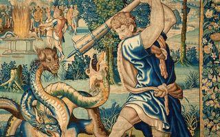 维也纳艺术史博物馆展览馆藏织锦珍品