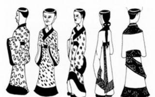 春秋战国时期楚墓出土木俑的服饰