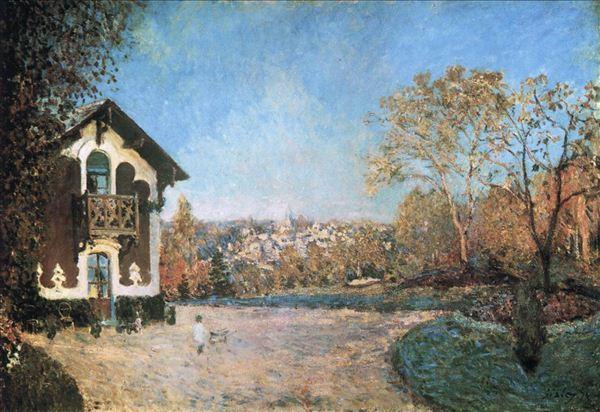 绚烂明丽的印象派:西斯莱风景油画欣赏