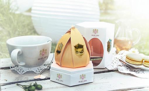 巧克力品牌poplars产品包装设计图片