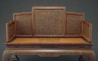 家具椅背上的雕刻都有哪些讲究?