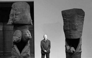 王克平大型木雕作品首次亮相于2015年香港巴塞尔艺术展