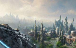 """迪士尼宣布将建造""""星球大战""""主题公园"""