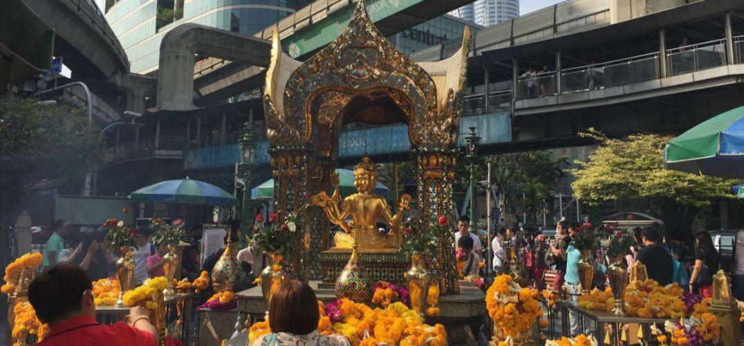 泰国曼谷著名景点四面佛附近爆炸 3位中国游客遇难