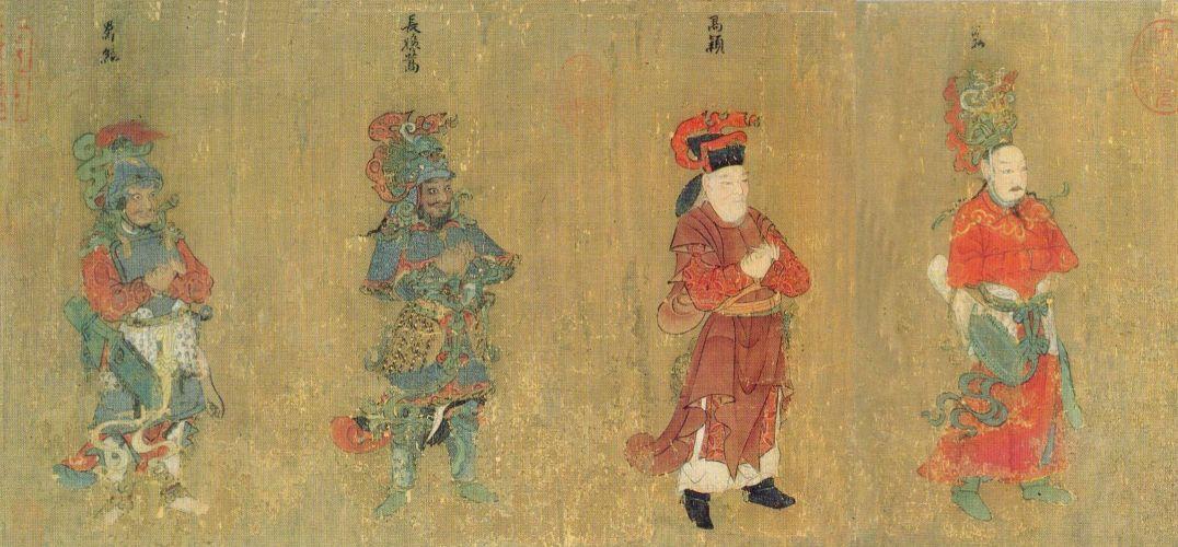 书画  唐代是我国人物画创作最为旺盛的一个时代,道释人物画,历史人物