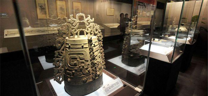四千余敦煌文物回归故里 魏晋龙凤纹铜镜保存完整