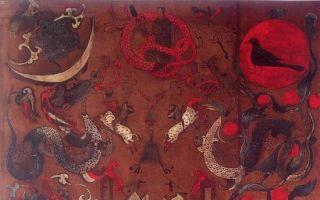 回溯帛画心存敬畏:中国画最早画种的本意