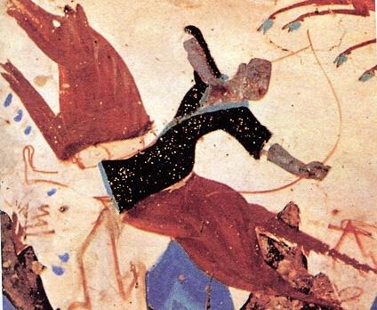 武术家是怎样看敦煌壁画的图片