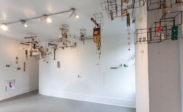 画廊邀请艺术家做室内装置 作品都很先锋_设计_生活