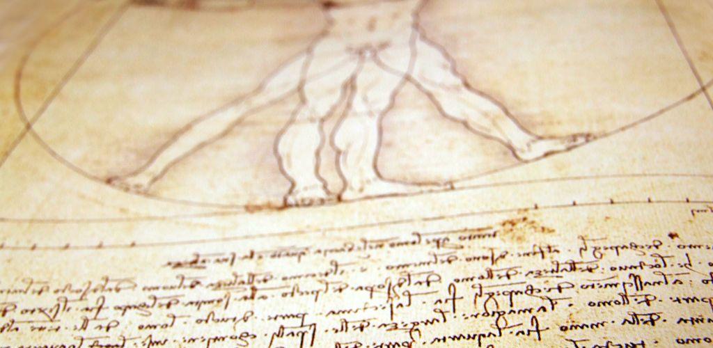 标尺梵花纹身手稿