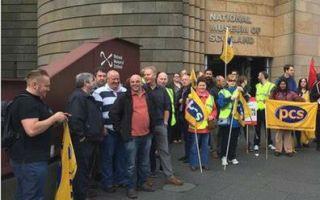 苏格兰国家博物馆职工罢工 抗议津贴双重待遇