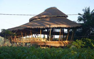 拜访巴厘岛绿色学校:就地取材的建筑设计