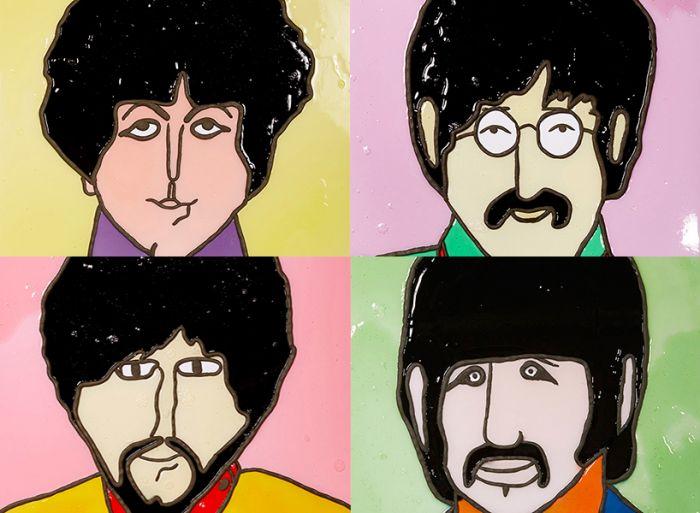 保罗乔治动漫头像
