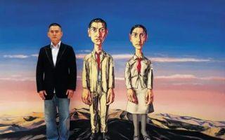 """当代中国画家 谁的自画像最""""丑""""?"""
