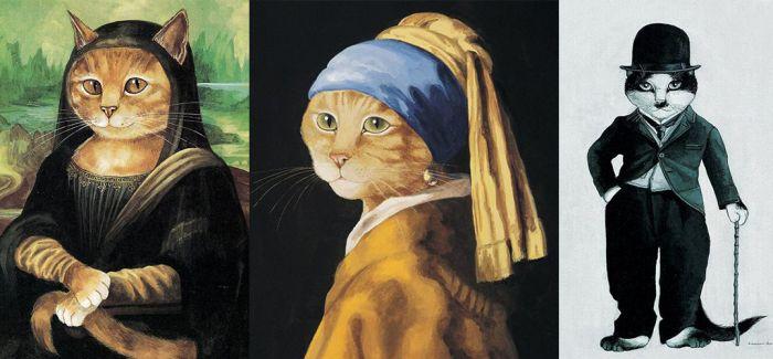 英国用猫现经典艺术名作