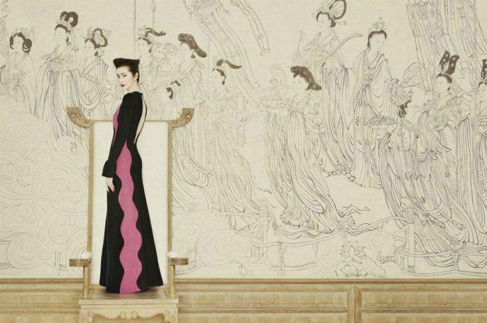 宛如古风画卷的女星写真 谁演绎的更美呢?