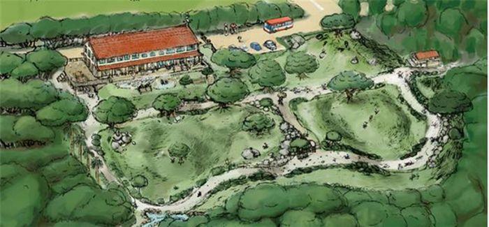 """宫崎骏出资3亿日元为孩子建公园""""风所归去之森"""""""