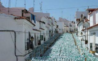 葡萄牙民众自发组织纸花艺术节:不眠不休让花开满街道