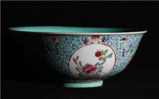 明清瓷器中的寿文化