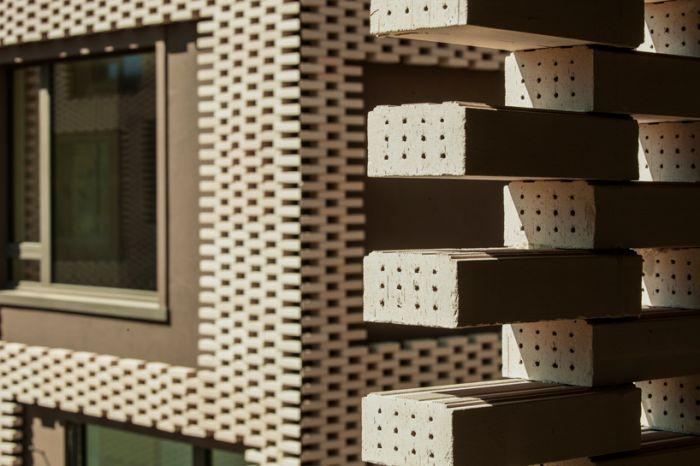 拼砖表皮包裹的le stelle住宅楼